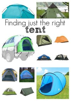 Here are a list of some great and cheap tents for camping this year. From unique to standard styles, here are some great tents we love.