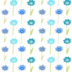 MeinLilaPark – DIY printables and downloads: Free digital floral scrapbooking paper : blue flowers - ausdruckbares Geschenkpapier - freebie