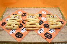 Biscotti alla nutella per Halloween Biscotti, Gingerbread Cookies, Nutella, Waffles, Breakfast, Desserts, Food, Halloween, Cream