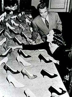 "He moved to Santa Barbara and became know as the ""Shoemaker of the Stars.""  His shoes were beautiful and innovative.  Hollywood took notice and Ferragamo relocated to Los Angeles to make shoes for many movies."