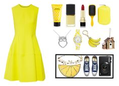 """""""I'm walking on sunshine..."""" by happy-geek7 ❤ liked on Polyvore featuring Lela Rose, Marc Jacobs, Denman, Lane Bryant, Dolce&Gabbana, Kenzo, Kate Spade, Cult Gaia, Converse and Silken Favours"""
