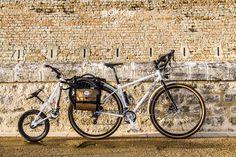 En voiture pour l'école le matin ? Pas une raison pour ne pas faire de vélo l'après-midi !    sacoche-velo-bakkie-cycles-velo-enfant-remorque-genesis-vagabond Motorcycle, Vehicles, Molle Pouches, Bicycle Kick, Automobile, Biking, Motorcycles, Motorbikes, Engine