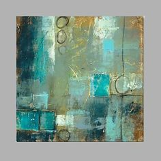 Blue+Color+Square+Size+Handmade+Oil+Painting+–+USD+$+54.99