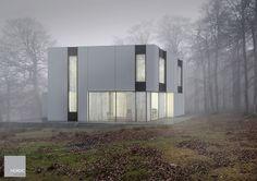 CUBE L 187 m2 – 2 plan hus + 20 m2 garage