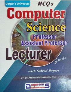 Computer Science Professor Assistant Professor Lecturer BPS-17 Guide MCQs PDF