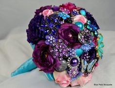 Brooch Bouquet, 40% off | Recycled Bride