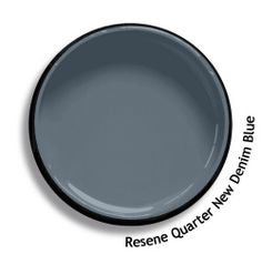 View this and of other colours in Resene's online colour Swatch library Exterior Front Doors, Grey Exterior, Exterior Paint Colors, Paint Colors For Home, House Colors, Paint Colours, Colored Denim, Blue Denim, Blue Roof