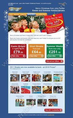Company:    John Fowler Holidays Ltd.   Subject:    A Christmas Present From John Fowler Christmas - No VAT & No Price Increase.              INBOXVISION is a global database and email gallery of 1.5 million B2C and B2B promotional emails and newsletter templates, providing email design ideas and email marketing intelligence http://www.inboxvision.com/blog