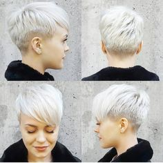 just short haircuts, nothing else. If you're thinking of getting an undercut, sidecut, pixie, or any... #PixieHairstyles