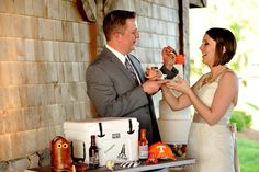 Cody & Bryan Grooms Cake DeBarge Vineyard Chattanooga, TN