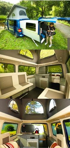 Pimped out VW Campervan