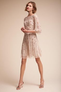 Champagne Sun Valley Dress | BHLDN
