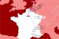 Thalys Train - France, Belgium, Holland & Germany  - Voyages-sncf.com