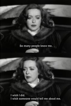 bette davis all about eve Old Movie Quotes, Classic Movie Quotes, Film Quotes, Classic Movies, Bette Davis, Pretty Words, Beautiful Words, Joan Crawford, Some Quotes
