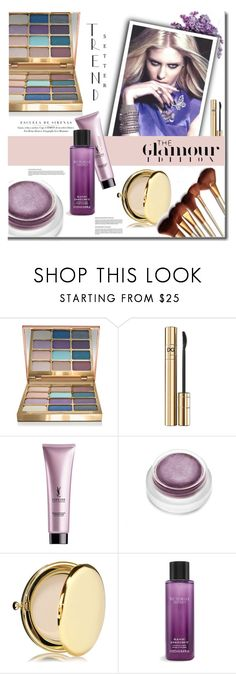 """""""Be a trend setter"""" by mslewis6 ❤ liked on Polyvore featuring beauty, Stila, D&G, SkinCare, rms beauty, Estée Lauder and Victoria's Secret"""