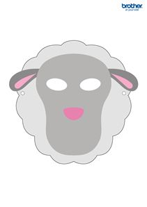1000 images about work masks on pinterest mask for kids for Cardboard sheep template