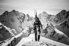 Backcountry Skiing Warrior by Christoph Oberschneider on 500px