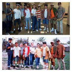 The Sandlot group Halloween costume