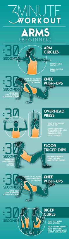 3 minute arm workout for beginners