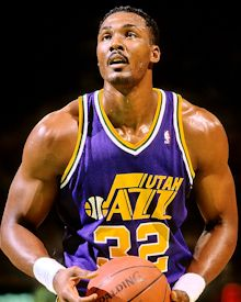 Special delivery from The Mailman, Karl Malone