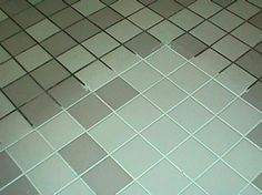 Green Spring Cleaning Recipe for Grout  7 cups water, 1/2 cup baking soda, 1/3 cup lemon juice and 1/4 cup vinegar - throw in a spray bottle and spray your floor, let it sit for a minute or two... then scrub