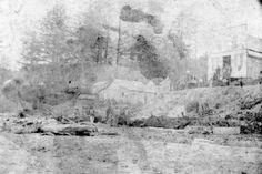 933 Newport Bayfront earliest, 1865-1866 (UO Libraries) Newport Oregon, Historical Pictures, Oregon Coast, Libraries, Lincoln, Vintage Photos, Roots, Past, History