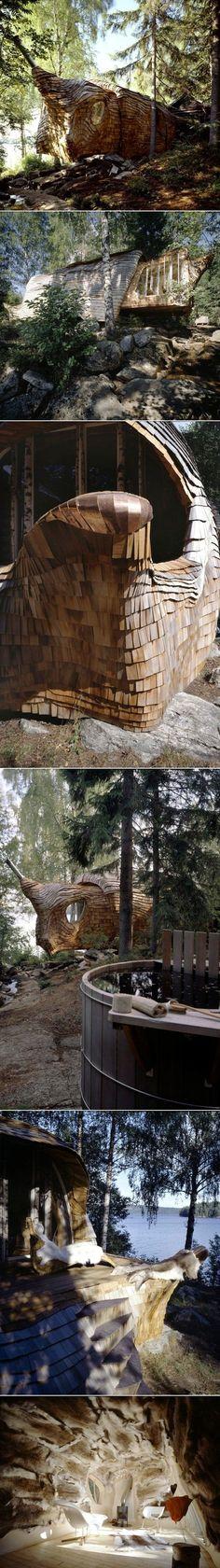 Magnifique maison intitulée Dragspelhuset par 24h architecture - Journal du…