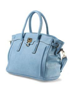 Satchel With Lock - Handbags - T.J.Maxx
