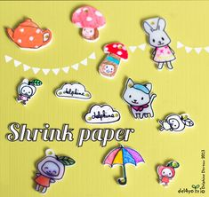 Shrink paper how to — Le Lapin dans la Lune