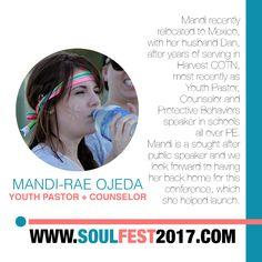 SOUL FEST 2017  Guest Speaker @mandiraeojeda #OmySoul Super Early Bird Price Ends 01 NOV 🎈 SIGN UP www.soulfest2017.com #SoulFest2017NextGen