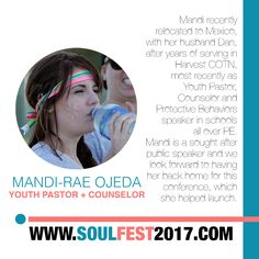 SOUL FEST 2017  Guest Speaker @mandiraeojeda #OmySoul Super Early Bird Price Ends 01 NOV 🎈 SIGN UP www.soulfest2017.com #SoulFest2017NextGen