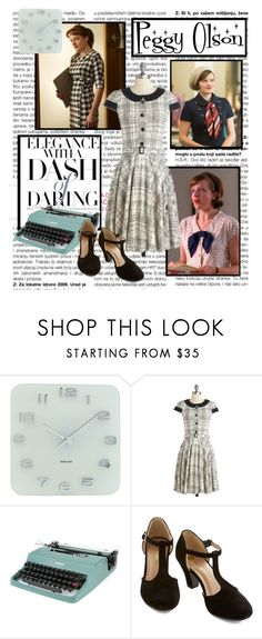 "Mad Men Accessories elisabeth moss - peggy olson""brublue ❤ liked on polyvore"