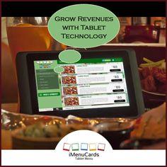 Grow Your Business with Tablet Menu Solutions! Know more here: http://www.imenucards.com  #imenu #tabletmenu #digitalmenu #food #ordering