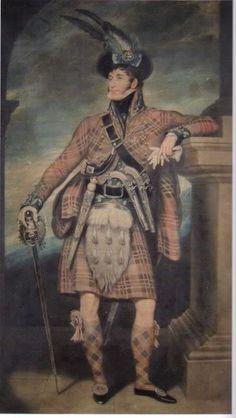 Major General Sir Evan MacGregor, 1822 We do admire his gift for sartorial understatement.