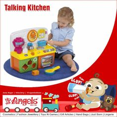 Fun and exciting toy set that can help improve children's vocabulary and listening skills. The set comes with melodious musical notes and is well suited to hold any child's attention for a long time  Visit: www.angelsfamilystop.com  #MakeupTip #AngelsFamilyShop #Cosmetics #FashionJewellery #GiftArticles #HandBags #JustBorn #Lingerie #ToysNGames