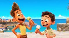 Luca looks so fun! Jim Gaffigan, Film Pixar, New Pixar Movies, Good Movies, Disney Films, Walt Disney, Lyrics English, Studio Disney, Songs