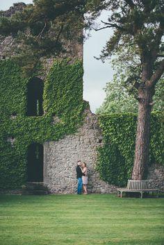 Engagement Shoot at Westenhanger Castle, Kent.   Matt Fox Photography - Blog - Joanna & Jamie Engagement Shoot