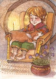 Bilbo and Corgi