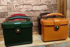 Handmade Leather Handbag Square Doctor Bag Purse Crossbody Shoulder Ba