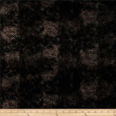 Minky Soft Onyx Cuddle Black/Taupe from @fabricdotcom  This gorgeous minky fabric has a plush silky soft 12mm pile that is perfect for apparel accents, blankets, throws, pillows, stuffed animals and more! This fabric is like faux fur, but very drape-able with a touch of mechanical stretch.