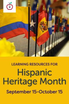 The study of Hispanic heritage offers you the chance to explore many diverse and rich cultures with your class during Hispanic Heritage Month (September 15–October 15). These lesson plans, printables, activities, and references will enrich your classroom study. Read the book The House on Mango Street and Shadow of a Bull, learn about Mexico's Day of the Dead, play mariachi music, practice Spanish vocabulary, discover the customs and traditions of Hispanic heritage, and more.