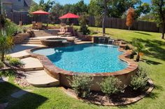 Luxury Backyards - traditional - Pool - Austin - Cody Pools, Inc.