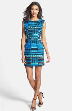 Plenty by Tracy Reese 'Vanessa' Print Sheath Dress (Regular & Petite) available at #Nordstrom