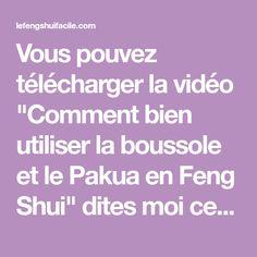 BOUSSOLE FENG SHUI GRATUIT