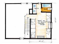 Catfish Cabin Upper Floor - Natural Element Homes