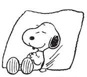 Custom Screen Printed T-Shirt  Snoopy A Sleep  Small - 4XL Free