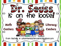 January ~ Dr. Seuss packet of ideas