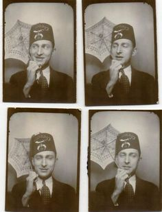 i can t explain my fondness for the shriner hats Vintage Photo Booths e5951d6d3486