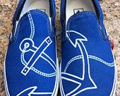 Hand Painted Anchor Vans