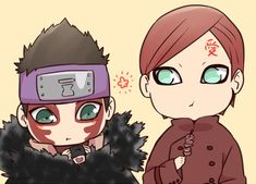 Gaara and Shinki… :3